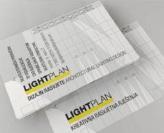 Lighting Design Studio Business Cards  by 2plus3d (via Creattica)