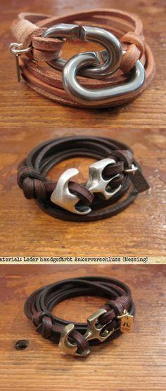 #mens #leather bracelets                                                                                                                                                                                 Más