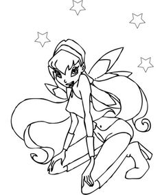 39 Fantastiche Immagini Su Winx Winx Club Drawings E Faeries