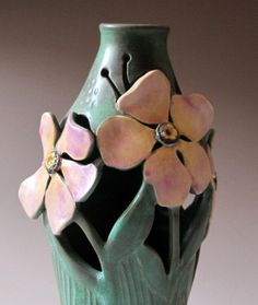 I love the excessively floral and sinuous designs of the Art Nouveau period. The languid gaze of the Art Nouveau women beg to be reproduced in clay. The nouveau design is much more forgiving to...