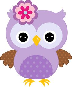 Purple Painted Cartoon Owl With Bow Owl Clip Art, Owl Art, Lila Baby, Baby Boy, Purple Owl, Purple Baby, Owl Crafts, Owl Patterns, Baby Owls