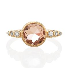 Vale Jewelry Aurora Ring With Morganite - BestProducts.com