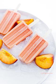 Lody brzoskwiniowo - jogurtowe