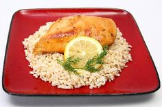 Weight Watchers Lemonade Chicken recipe – 4 points