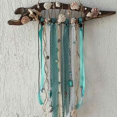 Wind Chimes, Dream Catcher, Outdoor Decor, Home Decor, Wood Scraps, Hunters, Sea Shells, Homemade Home Decor, Dreamcatchers