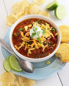 The Comfort of Cooking » Slow Cooker Turkey Chili