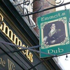 Emmet's Pub, Boston Nightlife, Irish Pub, 6 Beacon St Boston MA 02108