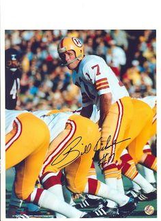 Autographed Billy Kilmer Washington Redskins 8x10 Photo