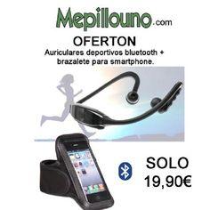 Se acabaron las fiestas es hora de ponerse en forma http://www.mepillouno.com/Brazalete-deporte-y-auriculares-BLUETOOTH