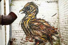 Street art murals - Dzia
