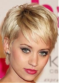 Custom Noble Hair Style-Short Straight Hand Tied Full Lace 100% Human Hair Wig