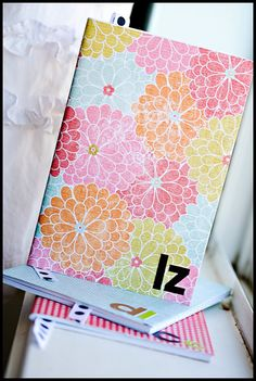 Follow these super simple steps to turn an ordinary inexpensive notebook into a beautiful, personalized gift! #ParentsGifts #ParentsMagazine