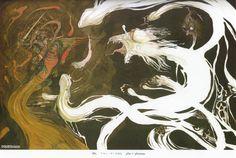 Artist Yoshitaka Amano, one of my favorite illustrators of all time.