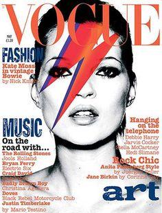 Kate + Bowie + Vogue.