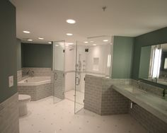 2,630 Wheelchair Accessible Bathroom Home Design Photos @ Houzz.com Love  The Double Door Shower