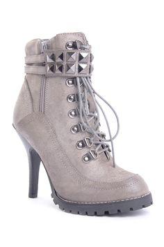 Big Time Stud Bootie on HauteLook  LOVE THESE! Minus the heel.