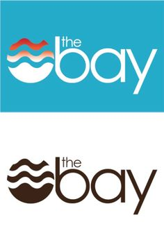 Logo design in full color and black-and-white for The Bay magazine by Cody Dulaney. This is a class assignment for Infographics.