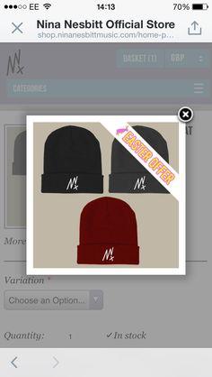 Nina Nesbitt | NN Logo Beanie Hat