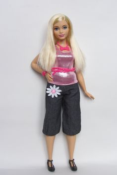 https://flic.kr/p/GiQoc8 | Barbie Fashionistas Doll 22 Chambray Chic - Curvy 2015 Mattel