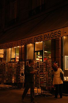 L' Ecume des Pages, my favorite bookstore in quartier Saint-Germain, Paris