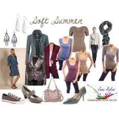 Soft Summer by expressingyourtruth on Polyvore featuring Hanna & Gracie, Kasper, Giani Bernini, Nine West, 1928, Converse and Doublju