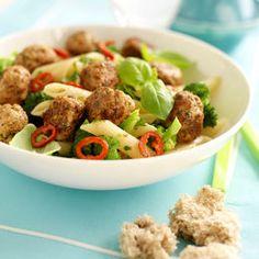 Raskt, hot og spicy med magre kjøttdeiger - MatPrat