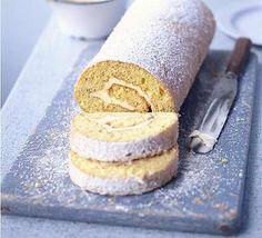 Lemon & caraway roulade | BBC Good Food