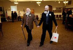 Bear couple getting hitched