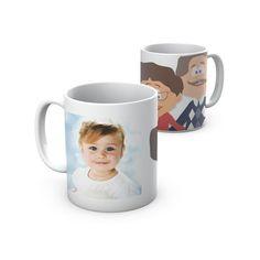 Uma caneca para os melhores avós do mundo. A mug for the best grandparents in the world.