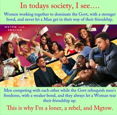 Why I'm a loner!   #mgtow #men #redpill @mgtownow