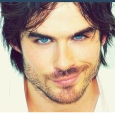 Ian Somerholder I picture him while reading 50 Shades ;)