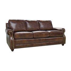 Levi Leather Sofa