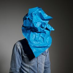 sinnen blue over my face #weird #wonderful #odd #art