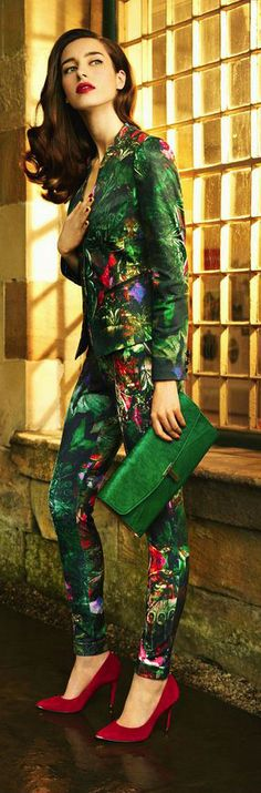 Ted Baker London Reene Jacket, Olivie Trousers | The House of Beccaria#