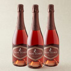 Iron Horse Ranch and Vineyards - Brut Rosé 2006 Trio (92 points)