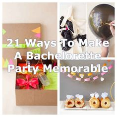21 Easy Ways To Make A Bachelorette Party Memorable