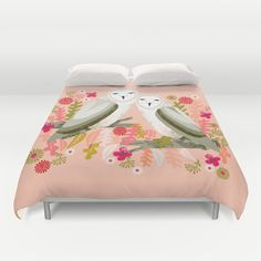 My Owl Barn: 10 Gorgeous Owl Duvet Covers From Society6