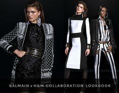 See The Full Balmain X H&M Collaboration Lookbook!