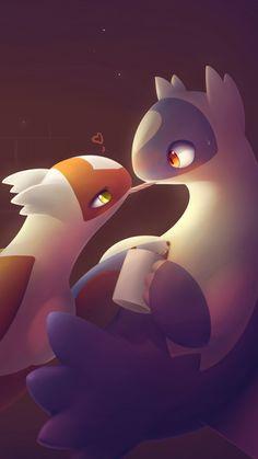 Pokemon Latias, Latios And Latias, Pokemon Ships, Cool Pokemon, Best Legendary Pokemon, Mythical Pokemon, Pokemon Couples, Cute Art, Pikachu