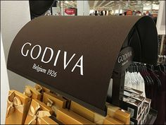 If you are a full-on Department Store, you chocolate offering had better be a cut above, just like your other merchandise. Godiva@ a good choice in this regard, also offering branded, chocolate col… Point Of Purchase, Chocolate Color, Department Store, Footprint, Retail, Big, Brown, Candy Shop, Shops