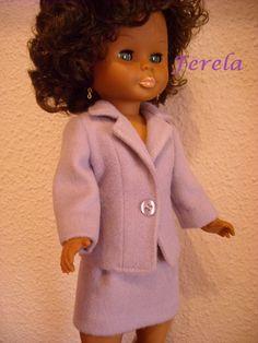 E Ca, Fur Coat, Dolls, Crochet, Fashion, Walk In Closet, Antigua, Wraps, Suits