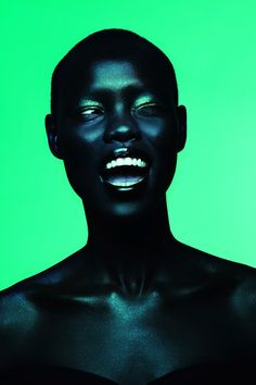 Grace Bol photographed by Giulia Noni  #green