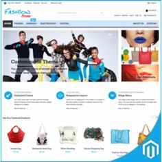 Fashions Stores Magento Responsive Themes and Templates