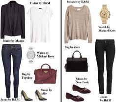 How to wear... burgundy.