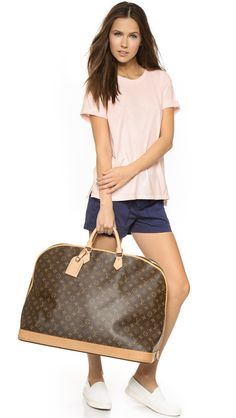 Travel in Style: Louis Vuitton Alma Voyager Weekend Duffle!