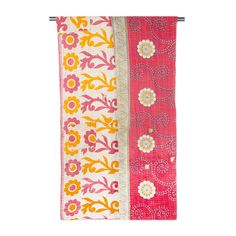 Kantha Stitch Throw - Hand-sewn and crafted by Artisans in Calcutta, India.