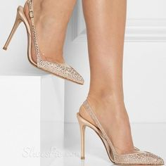 Shoespie Pointed Toe Stiletto Heels