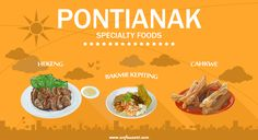 Specialty food from Pontianak, West Borneo, Indonesia