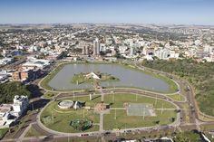 Vista parcial de Toledo/Paraná Toledo Pr, Baseball Field, Dolores Park, City, Brazil, Pictures, Cities