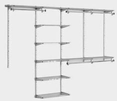 Excellent article about wire closet options